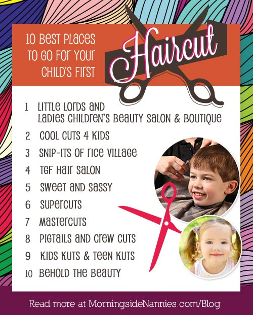 10 of the Best Places to Go for Your Child\u0027s First Haircut
