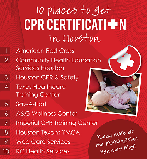 10 Places to Get CPR Certification in Houston | Morningside Nannies