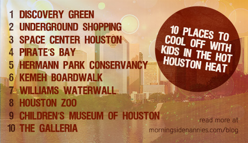 10 Places To Cool Off With Kids In The Hot Houston Heat