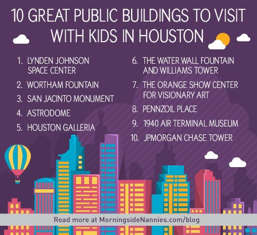 Top 10 Places Visit Houston: 10 Great Public Buildings To Visit With Kids In Houston