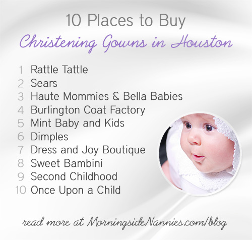 bf0eaa61b 10 Places to Buy Christening Gowns in Houston | Morningside Nannies
