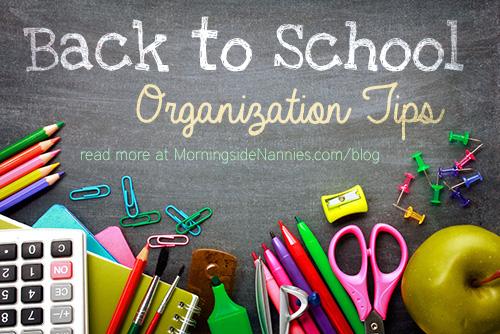 backtoschoolorganizationtips